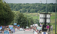 With 100 meters to go Philippe Gilbert (BEL/BMC) pushes through on the final climb and is able to hold off Tim Wellens (BEL/Lotto-Soudal) for the win<br /> <br /> Belgian National Road Cycling Championships 2016<br /> Les Lacs de l'Eau d'Heure