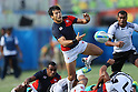 Shohei Toyoshima (JPN), <br /> AUGUST 11, 2016 - / Rugby Sevens : <br /> Men's Semi-final <br /> between Fiji 20-5 Japan <br /> at Deodoro Stadium <br /> during the Rio 2016 Olympic Games in Rio de Janeiro, Brazil. <br /> (Photo by YUTAKA/AFLO SPORT)