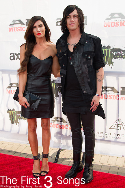 Kellin Quinn of Sleeping with Sirens attends the 2014 AP Music Awards at the Rock And Roll Hall Of Fame and Museum at North Coast Harbor in Cleveland, Ohio.