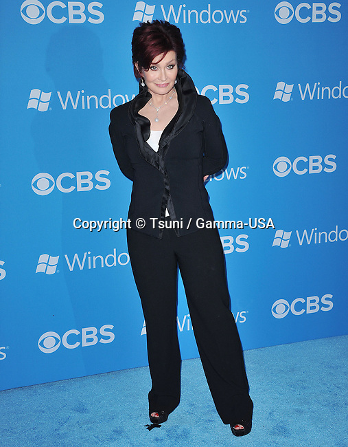 Sharon Osbourne  at the CBS 2012 Fall Premiere Party at the Greystone Manor In Los Angeles.