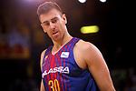 League ACB-ENDESA 2017/2018 - Game: 11.<br /> FC Barcelona Lassa vs Iberostar Tenerife: 91-93.<br /> Victor Claver.