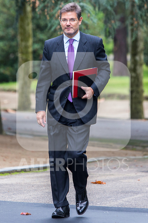 Spanish Minister of Justice Rafael Catala during the prensentation of Rajoy's New Government at Moncloa Palace in  Madrid, Spain. November 04, 2016. (ALTERPHOTOS/Rodrigo Jimenez)
