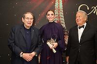 Robert Hossein, Clotilde Courau &amp; Massimo Gargia : &quot; The Best &quot; 40th Edition &agrave; l'h&ocirc;tel George V.<br /> France, Paris, 27 janvier 2017.<br /> ' The Best ' 40th Edition at the George V hotel in Pais.<br /> France, Paris, 27 January 2017