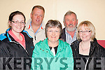 Check<br /> ---------<br /> enjoying the bingo fundraiser for Clogher NS,Ballymac last Friday night in the Community hall were L-R Mag Gee,Tim O'Connor,Theresa&amp;John Gee with AnnMarie Crean.