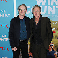 "Steve Buscemi and Michael Buscemi at the World Premiere of ""WINE COUNTRY"" at the Paris Theater in New York, New York , USA, 08 May 2019"