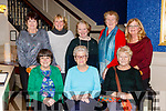 Ballybunion Active Retire members enjoying a meal in the Lord Kenmares restaurant on Friday night front row l-r: Geraldine Scanlon, Colette Walsh, Maisie Rohan. Back row: Peggy Murphy.Kathleen Collins, Joan Lyons, Nora Costello and Pat Buckley