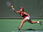 Stanford, CA - March 10, 2013.  Stanford Women's Tennis Team vs. Texas at Taube Family Tennis Stadium...