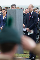 The Duke of Cambridge Prince William attends the Battle of Messines Ridge Commemorations - Belgium