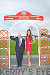 Best Dressed Man : Pictured at the launch of the Best dressed Man Competition at Listowel races judges of the competition Denis Guiney, Killarney, founding member of the Ring Of Kerry Cycle race and Aoife Hannon, Listowel, Miss Ireland Universe