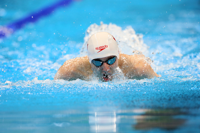 Rio de Janeiro-12/9/2016- Canadian swimmer  Alex Elliot competes in the men's 100m butterfly  at the Olympic Aquatic Centre during the 2016 Paralympic Games in Rio. Photo Scott Grant/Canadian Paralympic Committee
