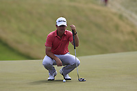 Brian Harman (USA) on the 8th green during Saturday's Round 3 of the 117th U.S. Open Championship 2017 held at Erin Hills, Erin, Wisconsin, USA. 17th June 2017.<br /> Picture: Eoin Clarke | Golffile<br /> <br /> <br /> All photos usage must carry mandatory copyright credit (&copy; Golffile | Eoin Clarke)