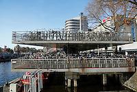 Nederland Amsterdam 2016.  Fietsenstalling bij Centraal Station. Foto Berlinda van Dam / Hollandse Hoogte