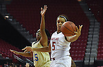 Women's Basketball Maryland vs. Southern on Friday, December 11, 2015.  Photo by Molly Riley