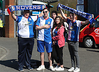 Blackburn Rovers fans before the game<br /> <br /> Photographer Rachel Holborn/CameraSport<br /> <br /> The EFL Sky Bet Championship - Blackburn Rovers v Barnsley - Saturday 8th April 2017 - Ewood Park - Blackburn<br /> <br /> World Copyright &copy; 2017 CameraSport. All rights reserved. 43 Linden Ave. Countesthorpe. Leicester. England. LE8 5PG - Tel: +44 (0) 116 277 4147 - admin@camerasport.com - www.camerasport.com