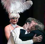 """Kelsey Grammer, Douglas Hodges, Jerry Herman<br />during the Broadway Opening Night Performance Curtain Call for  """"La Cage Aux Folles""""  at the Longacre Theatre in New York City.<br />April 18, 2010"""
