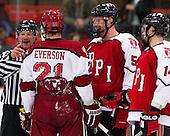 Marshall Everson (Harvard - 21), Luke Curadi (RPI - 5) - The Harvard University Crimson defeated the visiting Rensselaer Polytechnic Institute Engineers 4-0 (EN) on Saturday, November 10, 2012, at Bright Hockey Center in Boston, Massachusetts.