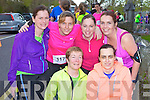 Portmagee runners at the Feet First 5km in Killarney on Friday front row l-r: Mary Keating, Mary Casey. Back row: Mary O'Connor, Mary Devane, Michelle Devane and Mary O'Sullivan