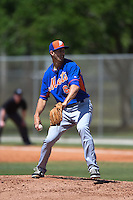 New York Mets pitcher Gaither Bumgardner (65) during a minor league spring training game against the Miami Marlins on March 30, 2015 at the Roger Dean Complex in Jupiter, Florida.  (Mike Janes/Four Seam Images)