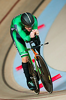 Picture by Alex Whitehead/SWpix.com - 22/03/2018 - Cycling - 2018 UCI Para-Cycling Track World Championships - Rio de Janeiro Municipal Velodrome, Barra da Tijuca, Brazil - Colin Lynch of Ireland competes in the Men's C2 Individual Pursuit qualifying.