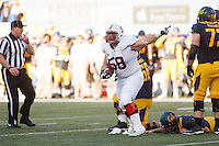 Berkeley- November 22, 2014: David Parry during the Stanford vs Cal at Memorial Stadium in Berkeley Saturday afternoon<br /> <br /> The Cardinal defeated the Bears 38 - 17