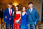 Pictured at the Kerry GAA awards held at The Rose Hotel, Tralee on Saturday night last, were l-r: Robert Silles, Saidbh Pope, Jessica Fitzell and Tomás O'Connor