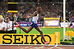 Mo Farah (GBR) celebrates as he wins the mens 10,000m. IAAF World athletics championships. London Olympic stadium. Queen Elizabeth Olympic park. Stratford. London. UK. 04/08/2017. ~ MANDATORY CREDIT Garry Bowden/SIPPA - NO UNAUTHORISED USE - +44 7837 394578