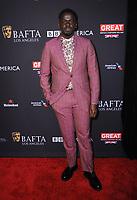 06 January 2018 - Beverly Hills, California - Daniel Kaluuya. 2018 BAFTA Tea Party held at The Four Seasons Los Angeles at Beverly Hills in Beverly Hills. <br /> CAP/ADM/BT<br /> &copy;BT/ADM/Capital Pictures