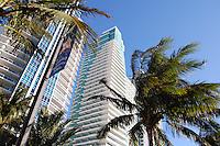 Buildings along A1A on Hollywood Beach Florida. Photo Debi Pittman Wilkey