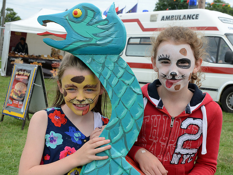 Shannon and Alex pictured  at the Viking festival in Annagassan. Photo:Colin Bell/pressphotos.ie