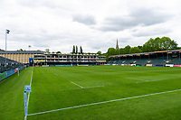 A general view of the Recreation Ground prior to the match. Gallagher Premiership match, between Bath Rugby and Wasps on May 5, 2019 at the Recreation Ground in Bath, England. Photo by: Patrick Khachfe / Onside Images