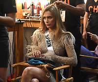 BANGKOK, THAILAND - DECEMBER 16: 2018 MISS UNIVERSE: Miss Spain Angela Ponce during rehearsals for the 2018 MISS UNIVERSE competition at the Impact Arena in Bangkok, Thailand on December 16, 2018. Miss Universe will air live on Sunday, Dec. 16 (7:00-10:00 PM ET live/PT tape-delayed) on FOX.  (Photo by Frank Micelotta/FOX/PictureGroup)