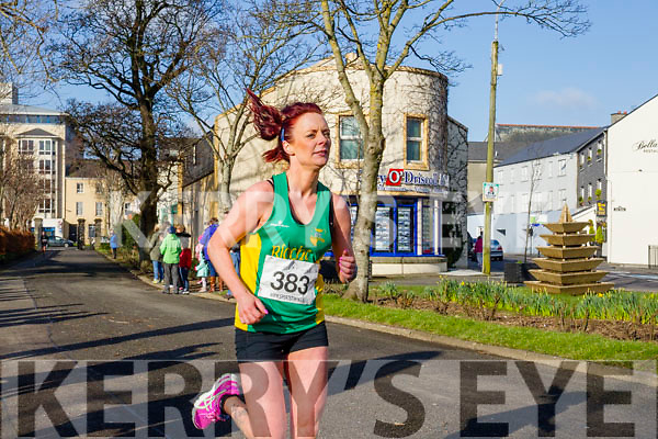 Catherine O'Sullivan, pictured at the Kerry's Eye Valentines Weekend 10 mile road race on Sunday.
