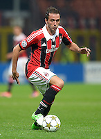 FUSSBALL   CHAMPIONS LEAGUE   SAISON 2012/2013   GRUPPENPHASE   AC Mailand - Anderlecht                            18.09.2012 Pazzini Giampaolo (AC Mailand)