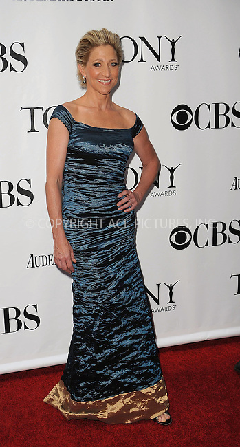 WWW.ACEPIXS.COM . . . . .  ....June 7 2009, New York City....Actress Edie Falco at the 63rd Annual Tony Awards at Radio City Music Hall on June 7, 2009 in New York City.....Please byline: KRISTIN CALLAHAN -  ACE PICTURES.... *** ***..Ace Pictures, Inc:  ..tel: (212) 243 8787 or (646) 769 0430..e-mail: info@acepixs.com..web: http://www.acepixs.com