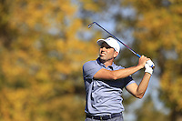 Sergio Garcia (ESP)(Team Europe) on the 17th tee during Sunday Singles matches at the Ryder Cup, Hazeltine National Golf Club, Chaska, Minnesota, USA.  02/10/2016<br /> Picture: Golffile | Fran Caffrey<br /> <br /> <br /> All photo usage must carry mandatory copyright credit (&copy; Golffile | Fran Caffrey)