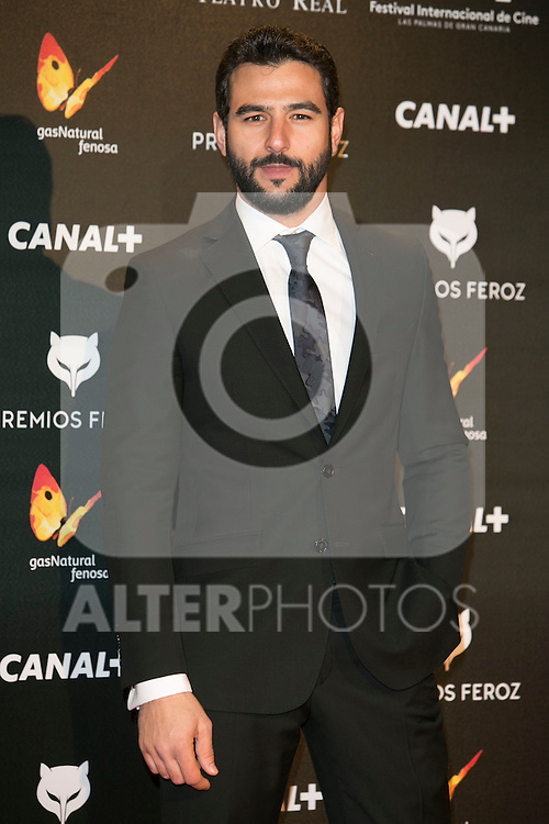 Antonio Velazquez attends the Feroz Cinema Awards 2015 at Las Ventas, Madrid,  Spain. January 25, 2015.(ALTERPHOTOS/)Carlos Dafonte)