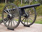U.S Civil War battlefield at Gettysburg National Military Park -Pennsylvania