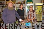 Peter Ireson, Tree Lewis and Olga Ireson who are part of the recently Kenmare co-operative society a non-profit food store supplies fresh fare at reasonable prices