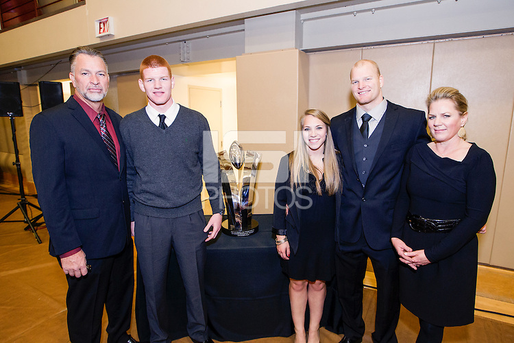 Stanford Cardinal football team awards banquet on Sunday, December 8, 2013, on the Stanford University Campus.
