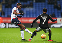 Bolton Wanderers' Sammy Ameobi competing with Reading's Leandro Bacuna  <br /> <br /> Photographer Andrew Kearns/CameraSport<br /> <br /> The EFL Sky Bet Championship - Bolton Wanderers v Reading - Tuesday 29th January 2019 - University of Bolton Stadium - Bolton<br /> <br /> World Copyright © 2019 CameraSport. All rights reserved. 43 Linden Ave. Countesthorpe. Leicester. England. LE8 5PG - Tel: +44 (0) 116 277 4147 - admin@camerasport.com - www.camerasport.com