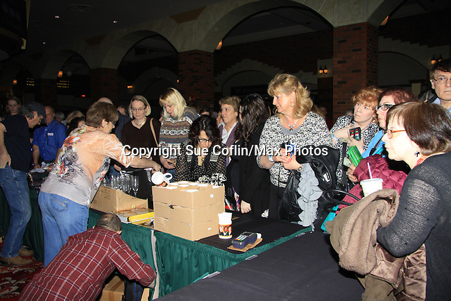 - A Tribute to Pine Valley - All My Children's fans and merchandise on February 16, 2013 with fans for Q&A, autographs, photos at Foxwoods Resorts Casino in Mashantucket, CT (Photo by Sue Coflin/Max Photos)