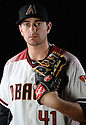 Arizona Diamondbacks Daniel Hudson (41) during photo day on February 28, 2016 in Scottsdale, AZ.