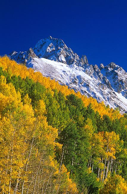 Autumn Colors, Sneffels Mountain Range, Colorado