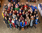 Student Affairs divisional group photo, December 14, 2018. (DePaul University/Jeff Carrion)