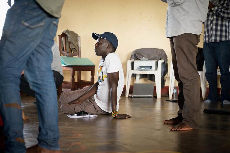 Okello kelo Sam founder of hope Hope North.