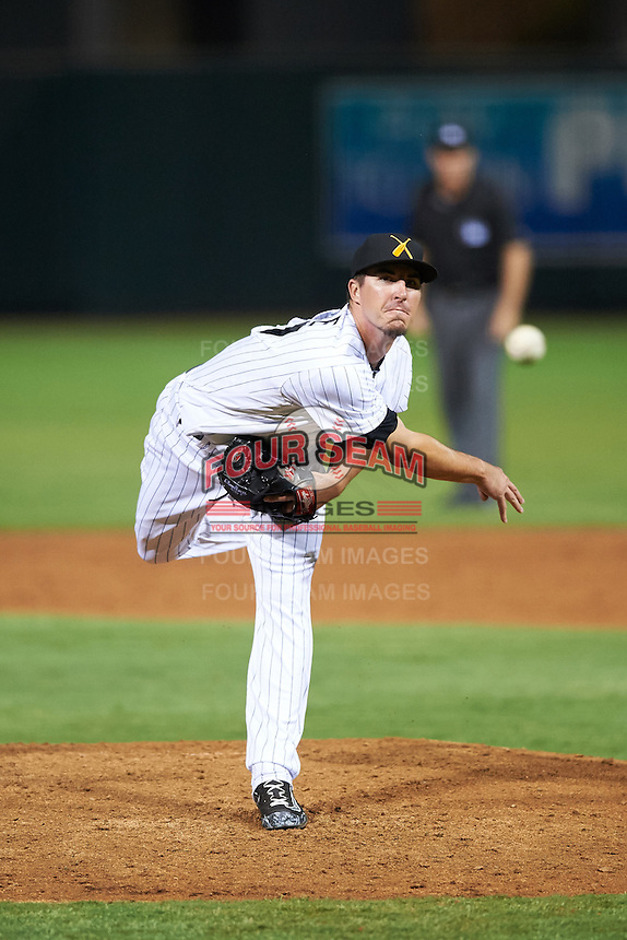 Salt River Rafters pitcher Shane Carle (37), of the Colorado Rockies organization, during a game against the Peoria Javelinas on October 11, 2016 at Salt River Fields at Talking Stick in Scottsdale, Arizona.  The game ended in a 7-7 tie after eleven innings.  (Mike Janes/Four Seam Images)