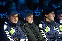 Jose Mourinho and technical staff