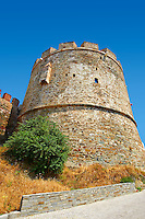 Byzantine Walls of Thessaloniki, Greece. A UNESCO World Heritage Site