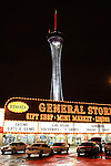 Bonanza General Store and tower in Las Vegas