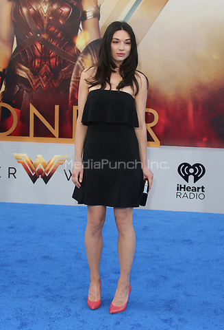 HOLLYWOOD, CA - MAY 25: Crystal Reed, at the Wonder Woman Los Angeles Film Premiere at The Pantages in Hollywood, California on May 25, 2017. Credit: Faye Sadou/MediaPunch